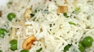 Peas Pulao  INDIAN RECIPES  MOST POPULAR RECIPES  EASY TO LEARN