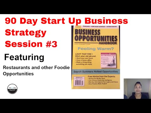 Business Strategy for Restaurants and other Foodie Opportunities