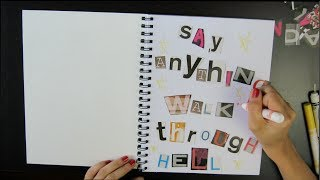 Say Anything - Walk Through Hell Lyric Video (Unofficial)