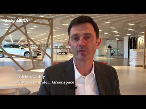 designMENA explores Toyota's biggest showroom designed by Greenspace