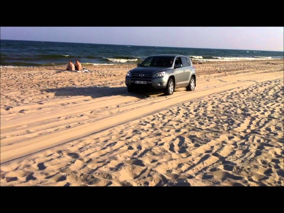 toyota rav 4 on sand youtube. Black Bedroom Furniture Sets. Home Design Ideas