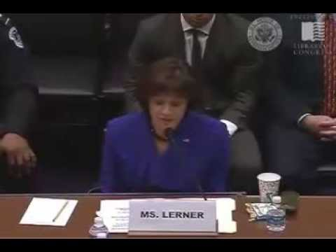 Lois Lerner Pleads The Fifth Again When Asked About IRS Scandal