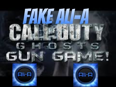 Call of Duty Ghosts Double GunGame [Fake Ali-A]