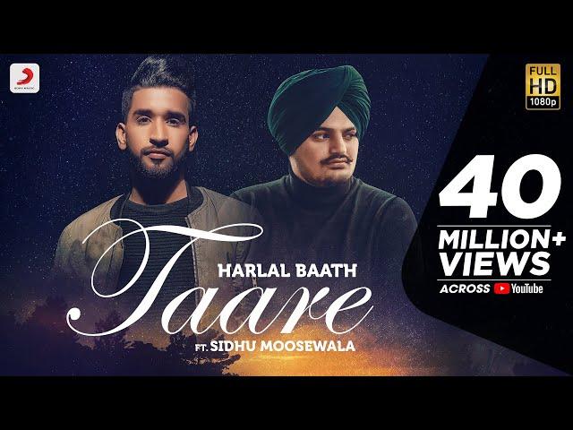 TAARE - Sidhu Moosewala & Harlal Batth  | Latest Punjabi Song 2020