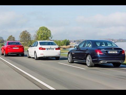 Mercedes C-Klasse vs. BMW 3er vs. Audi A4