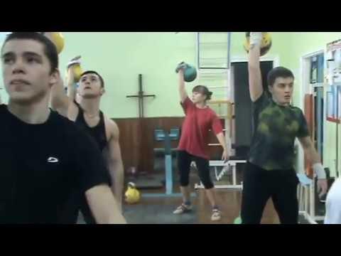 Общая тренировка с гирями. Russian kettlebell workout