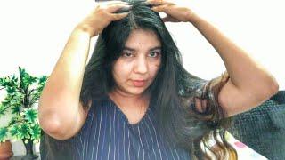 Hair oiling & hair pack •Trying Wow Vitamin C Clay Mask • #truelymadeinindia #simimidhun