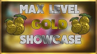 Gold-Gold Fruit Full Showcase - Steve's One Piece - Roblox - All Moves! - Max Level!
