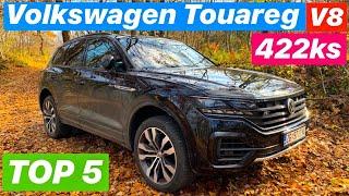 Volkswagen od milijun kuna! - VW Touareg V8 TDI R-Line - TOP 5 stvari koje morate znati