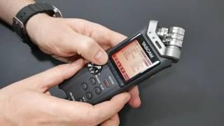 Tascam DR-22WL Audio Recorder | Prima für eine weitere Tonspur bei Video Aufnahmen