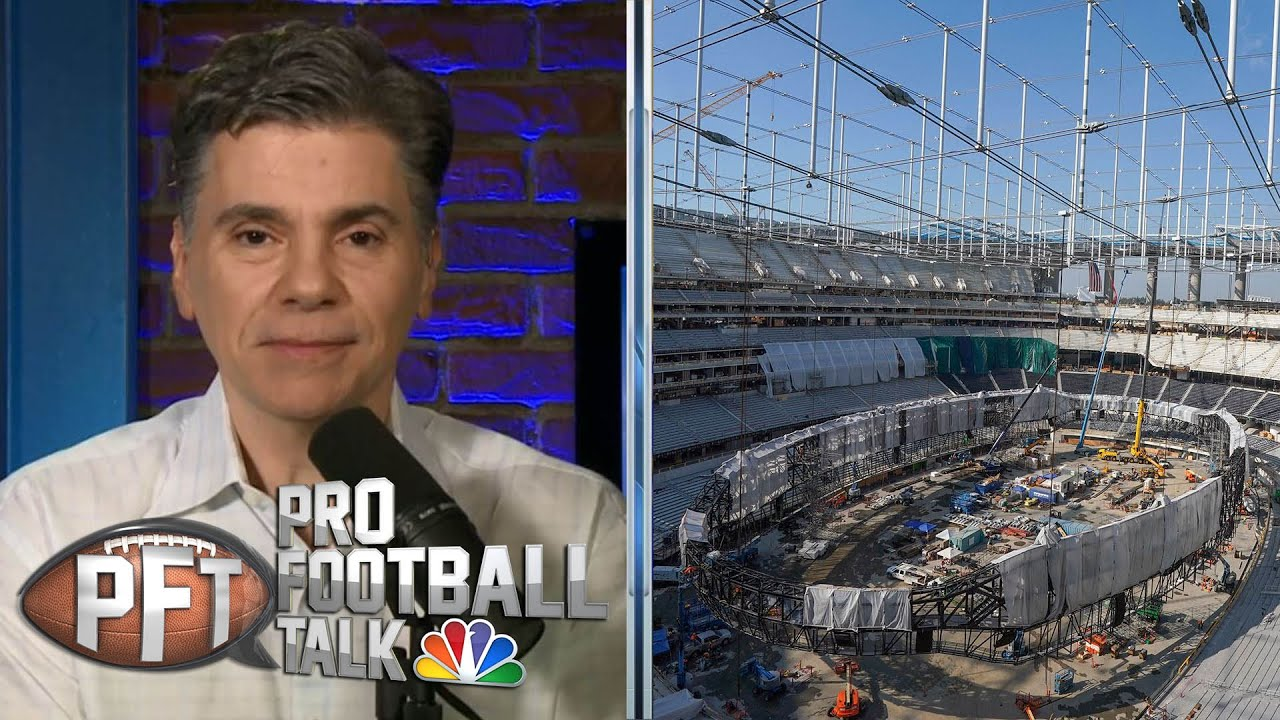 Los Angeles Rams announce Aug. 14 opening for SoFi Stadium | Pro Football Talk | NBC Sports