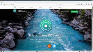 KDE Neon 5 7 3 based on Ubuntu 16 04   Linux Distribution, First Impressions Review