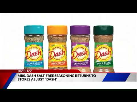 Mrs. Dash Seasoning Brand Drops `Mrs.` From Its Name