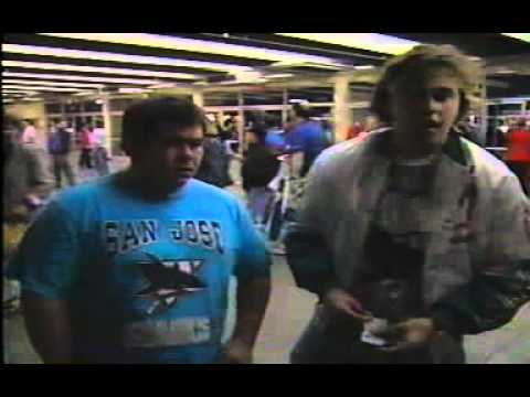 First San Jose Sharks Game - October 4, 1991