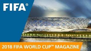 Russia 2018 Magazine: Volgograd Arena taking shape