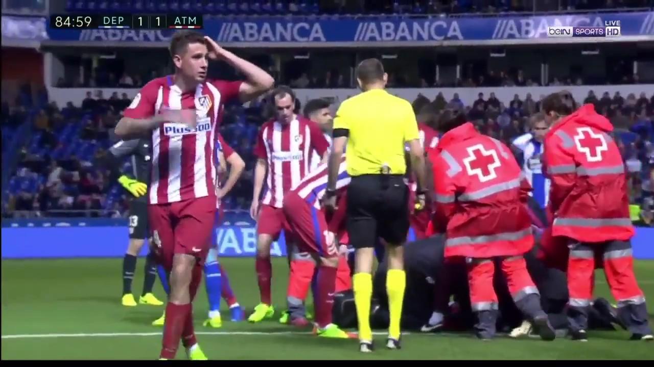 Fernando Torres's Severe Head Injury Deportivo La Coruna 1 ...