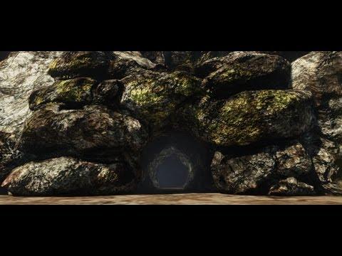 Unreal Development Kit UDK Sculpting Turorial - Cave Assets