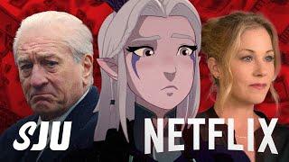 Netflix Ramps Up Spending in the Streaming Wars! | SJU