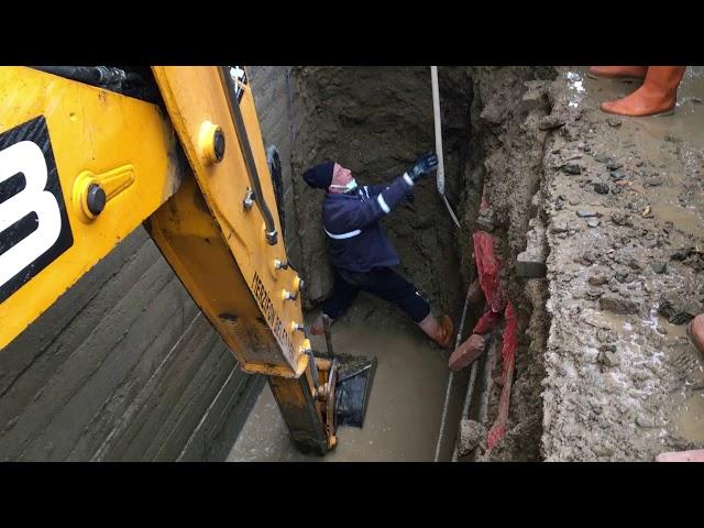 Camicedit Mahallesi Temiz Sokak Kanalizasyon Çalışması