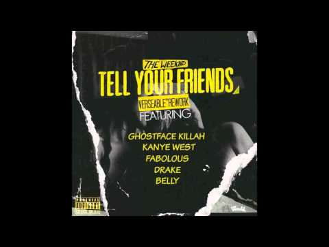 The Weeknd - Tell Your Friends (Offical Instrumental)