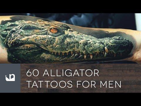 60 Alligator Tattoos For Men