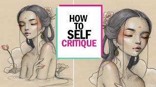 HOW TO SELF CRITIQUE 🎨 Studio Sessions Ep. 2