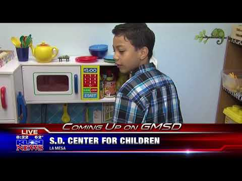 KUSI features the San Diego Center for Children's Family Wellness Center in La Mesa Part 4