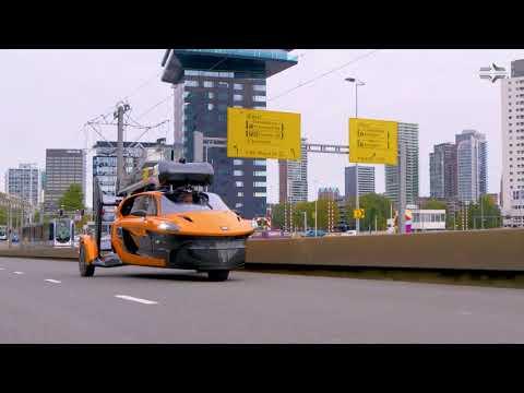 Flying Car PAL-V Liberty Hits The Road