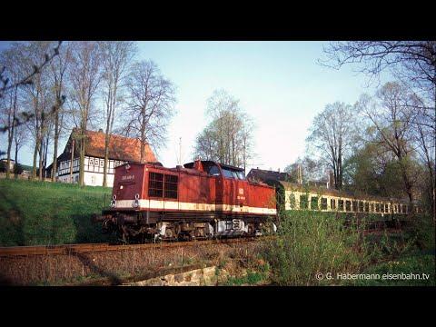 1996 Von Schlettau Nach Crottendorf Oberer Bahnhof
