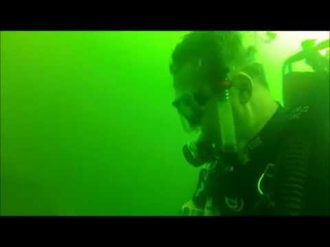 Scuba Diving at Clear Springs, Terrell TX USA