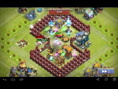 Castle Clash Best Defense TH Level 14