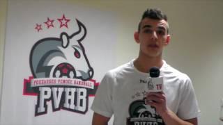 PVHB TV   Interview Benjamin Landry avant déplacement Girondins Floirac