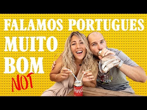 Danes Speaking PORTUGUESE after Living 10 Months in Portugal!