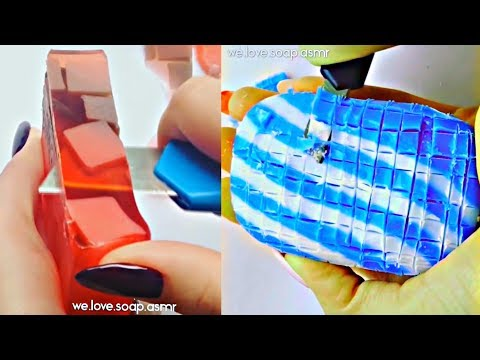 AMAZING Soap Cutting ASMR - 60 minutes Of PURE SATISFACTION