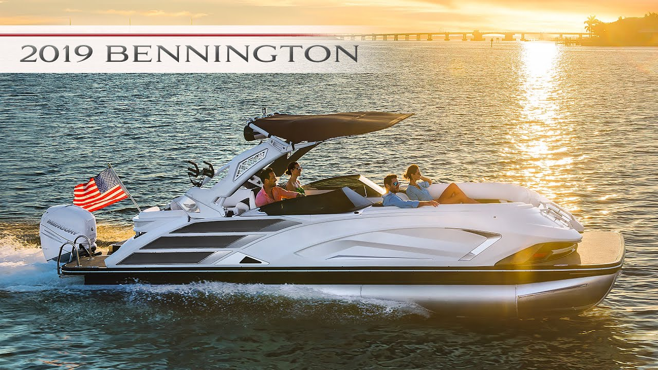 Introducing the All-New 2019 Bennington QX Sport, the Most Luxurious  Premium Pontoon Boat Ever!