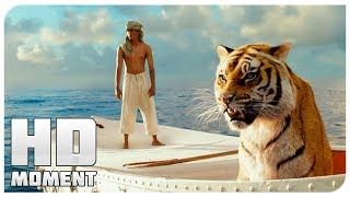 Flying fish-Life of PI (2012) - Moment from movie