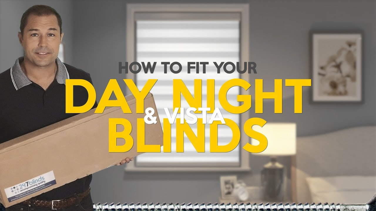 How To Fit Day Night Vista Blinds