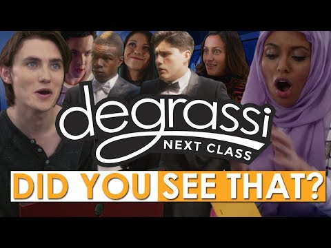 Did You See That? (Degrassi: Next Class Season 4 Edition)