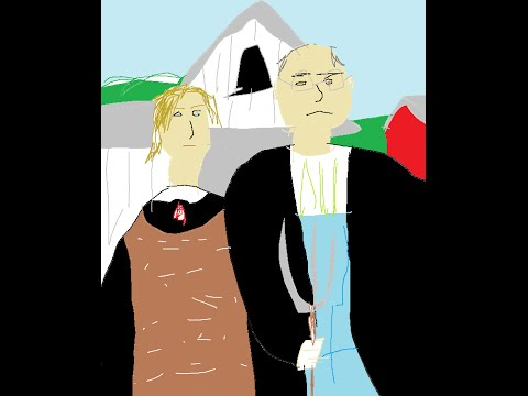 Shitty Paint: Grant Wood's