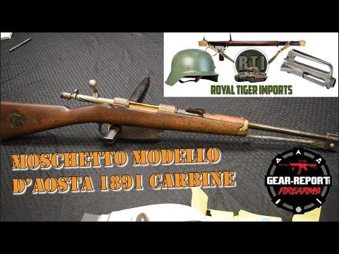 Gun Collector - Ethiopian Moschetto Modello D'Aosta 1891 Carbine