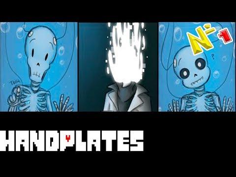 Comics - Handplates | Undertale часть 1 (Озвученный Комикс)🎙️