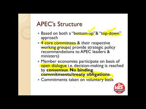 APEC(ASIA-PACIFIC ECONOMIC COOPERATION)