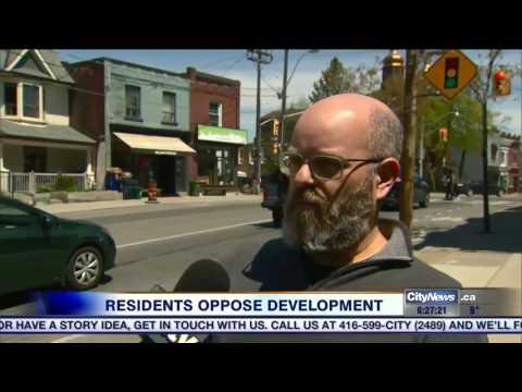 Video: Residents express concerns about plans for huge North York development