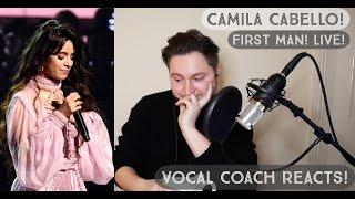 Vocal Coach Reacts! Camila Cabello! First Man! Live @ The Grammys!