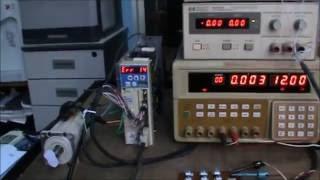 Panasonic Minas AC servo motor driver MSD repair error 14