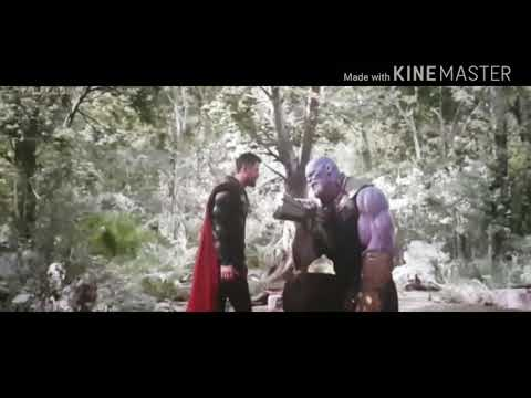 Thor vs thanos fight scene in Hindi
