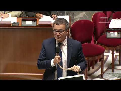 Olivier Gaillard TGAP Darmanin amendement (taxe générale sur les activités polluantes) PLF2019