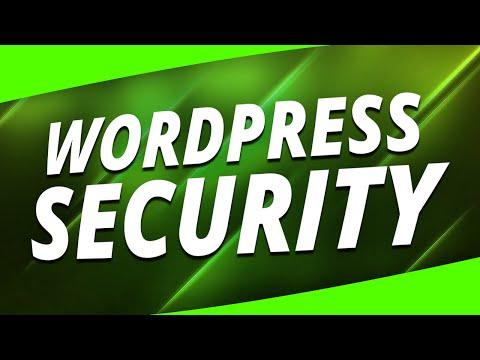 WordPress Security: 3 Simple Plugins (100% FREE) - 동영상