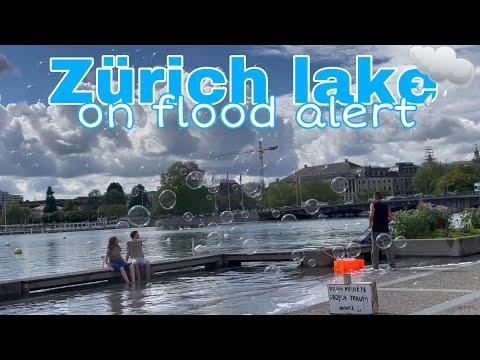 Filipina in Switzerland 🇨🇭 | Zürich Lake On Flood Alert 💦 🚨