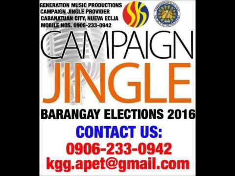 (WOWOWIN MUSIC) BARANGAY and SK Elections 2016 CAMPAIGN JINGLE SAMPLE